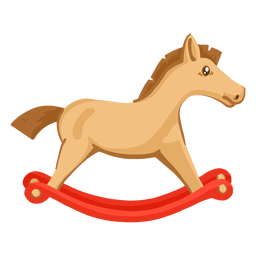 Passeio a cavalo na ilustração