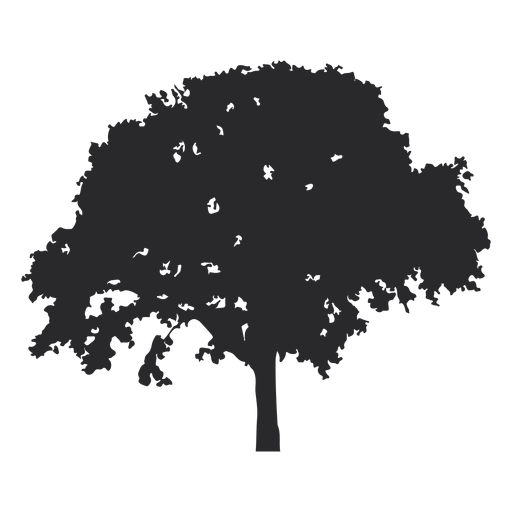 Huge tree vector Transparent PNG