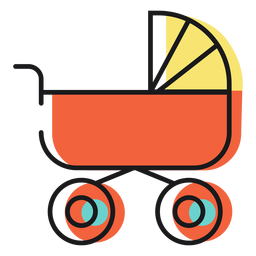 Icon baby carriage
