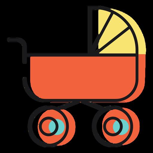 Cochecito de bebé icono