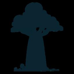 Grande árvore de safari