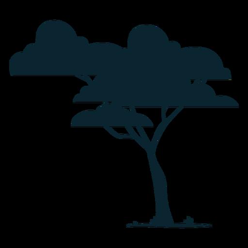 Leafy safari tree Transparent PNG