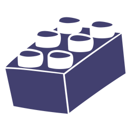 Vector de bloque de lego
