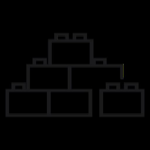Lego toy icon