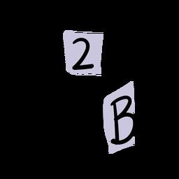 Letter blocks stroke