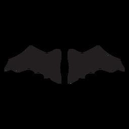 Nice bat wings vector