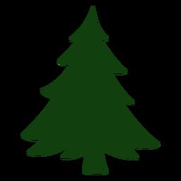 Bonito árbol de navidad vector