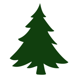 Nice christmas tree vector