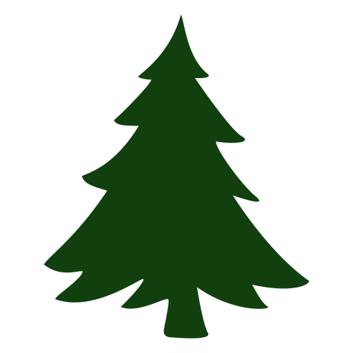 Nice christmas tree vector Transparent PNG