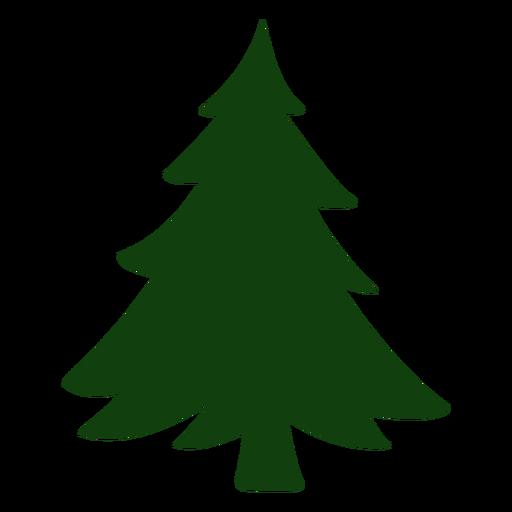 Nice christmas tree vector