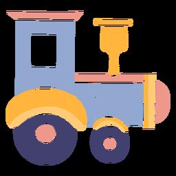 Belo trem de brinquedo