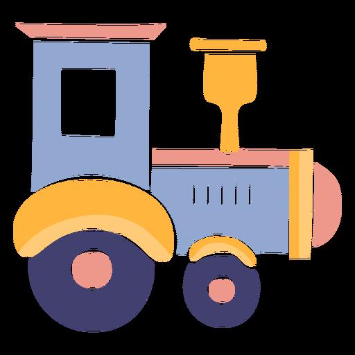 Bonito tren de juguete Transparent PNG