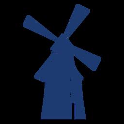 Bonito molino de viento vector