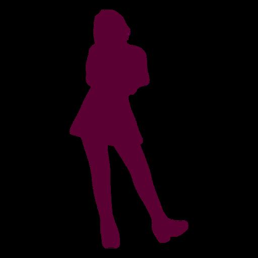 Pose dama silueta