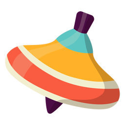 Pretty spinning top