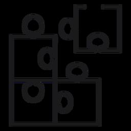 Puzzle Spielzeug Symbol