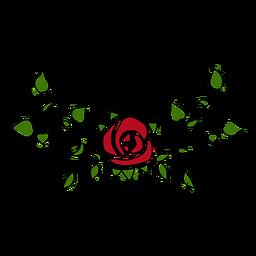 Adorno floral peculiar
