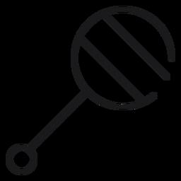 Ícone de chocalho