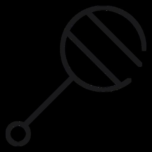 Icono de juguete sonajero