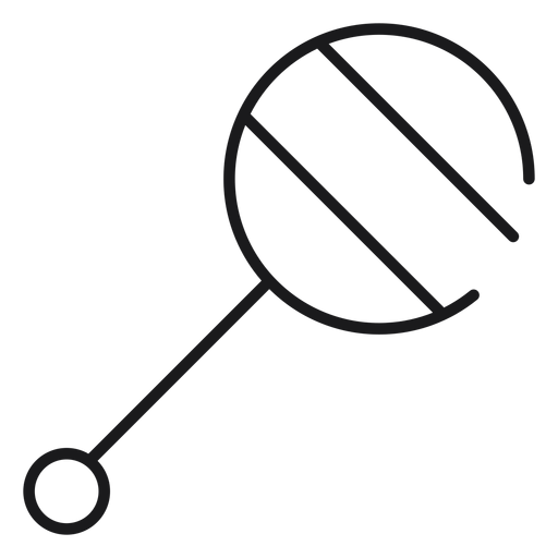 Rattle toy icon Transparent PNG