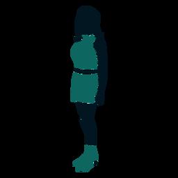 Garota de estilo retrô