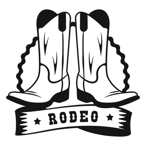Rodeo boots badge