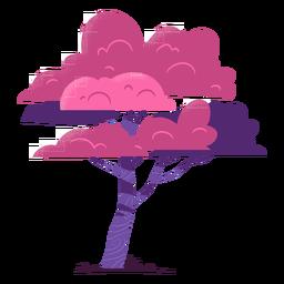 Bunter Baum der Safari
