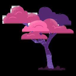 Safari tree colorful