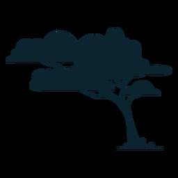 Árvore de Safari frondosa