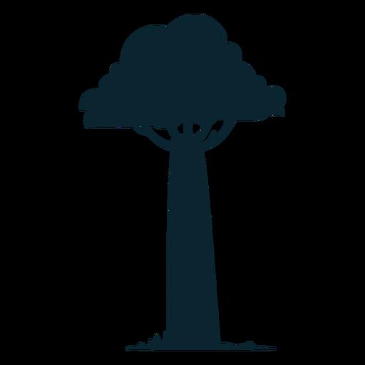 Safari tree tall Transparent PNG