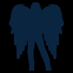 Vetor de anjo sexy