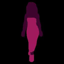 Sexy woman silhouette woman