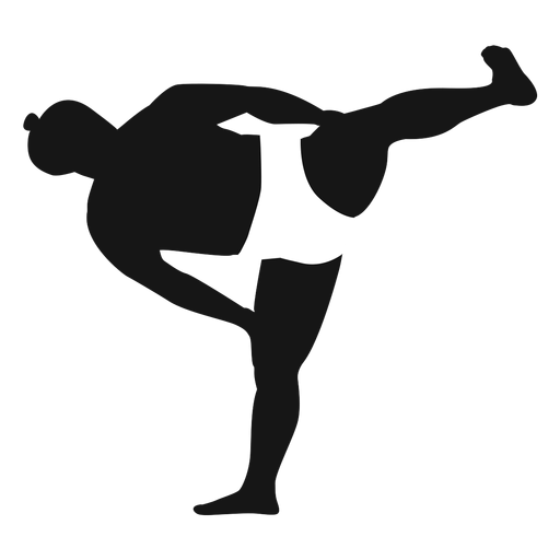 Side kick sumo fighter Transparent PNG