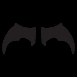 Alas de murciélago simples