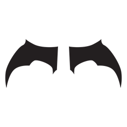 Simple bat wings