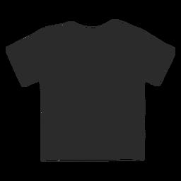 Vetor de camisa infantil simples