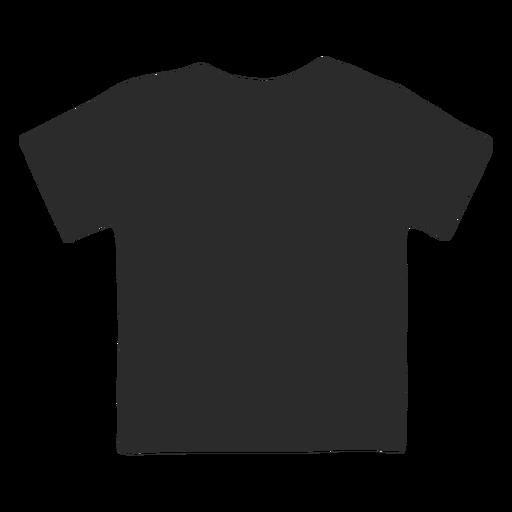 Simple children shirt vector