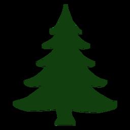 Árbol de navidad simple