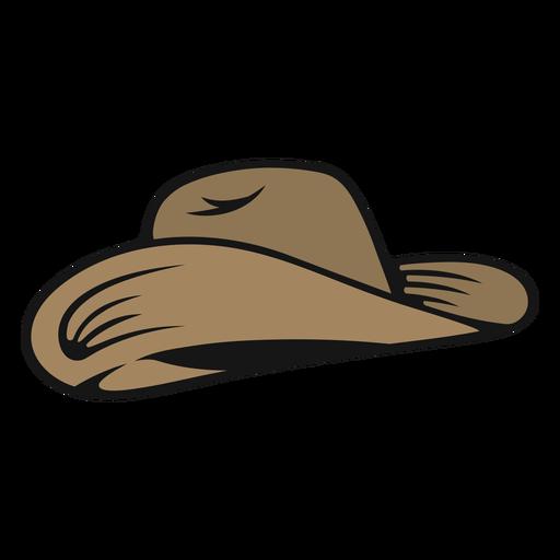Sombrero de vaquero simple