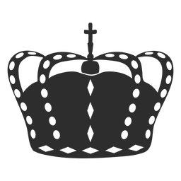 Simple crown with cross