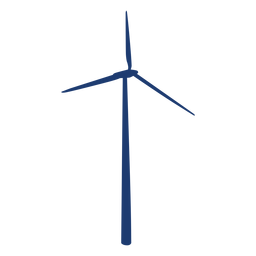 Simple windmill vector