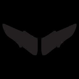 Vector de murciélago extendido