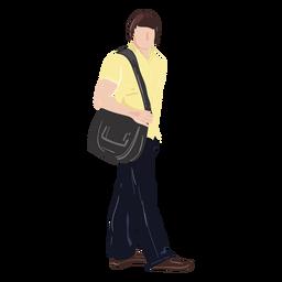 Ilustración del lado del estudiante