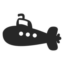 Vector submarino simple
