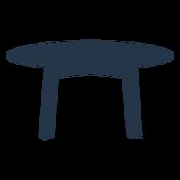 Mesa silueta simple