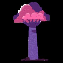 Árvore alta safari
