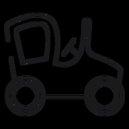 Icono de coche de juguete