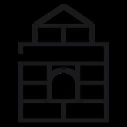 Icono de castillo de juguete