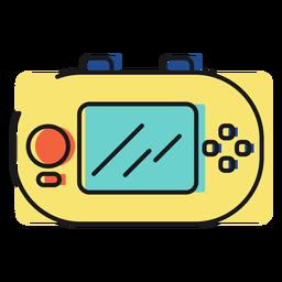 Icono de juguete gameboy