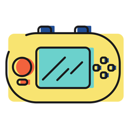 Toy icon gameboy